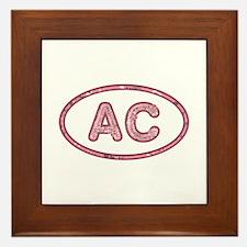 AC Pink Framed Tile