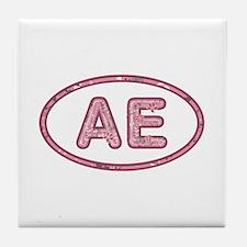AE Pink Tile Coaster