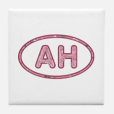 AH Pink Tile Coaster