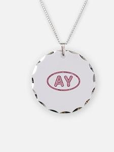 AY Pink Necklace