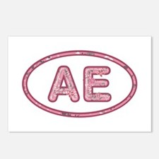 AE Pink Postcards 8 Pack