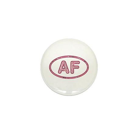AF Pink Mini Button