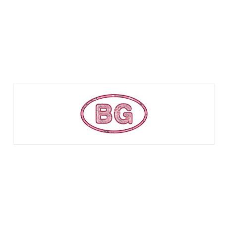 BG Pink 36x11 Wall Peel