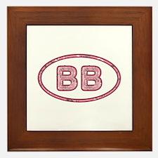 BB Pink Framed Tile