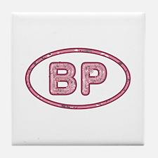 BP Pink Tile Coaster