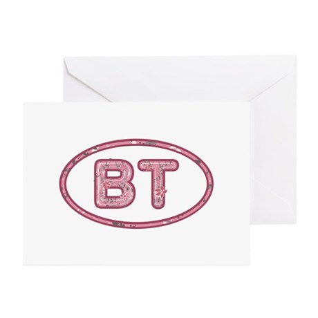 BT Pink Greeting Card 20 Pack