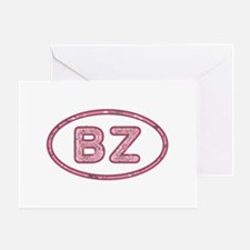 BZ Pink Greeting Card