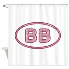 BB Pink Shower Curtain