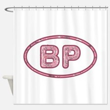 BP Pink Shower Curtain