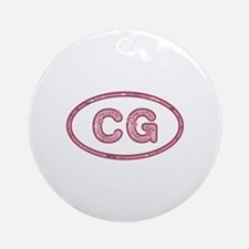 CG Pink Round Ornament