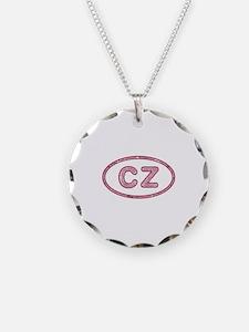 CZ Pink Necklace
