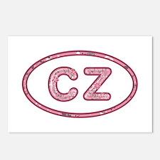 CZ Pink Postcards 8 Pack