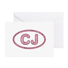CJ Pink Greeting Card 10 Pack