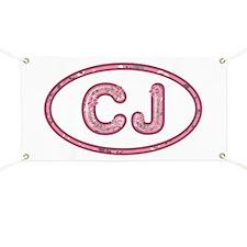 CJ Pink Banner