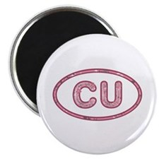 CU Pink Round Magnet 100 Pack