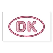 DK Pink Rectangle Decal