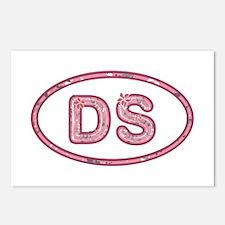DS Pink Postcards 8 Pack