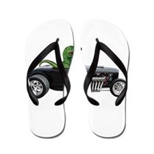 T-rex Hot Rod Flip Flops