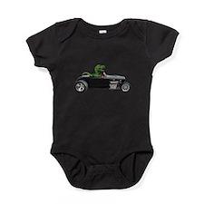 T-rex Hot Rod Baby Bodysuit