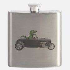 T-rex Hot Rod Flask