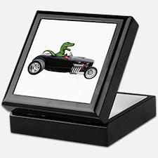 T-rex Hot Rod Keepsake Box