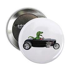 """T-rex Hot Rod 2.25"""" Button (10 pack)"""