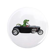 """T-rex Hot Rod 3.5"""" Button"""