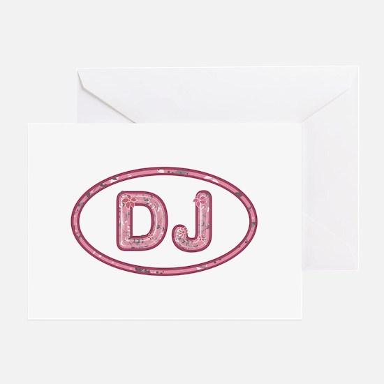 DJ Pink Greeting Card