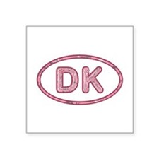 DK Pink Square Sticker