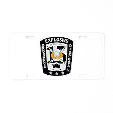 EOD Mobile Unit 15 Aluminum License Plate