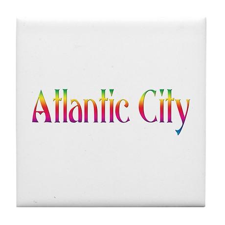 Atlantic City Tile Coaster