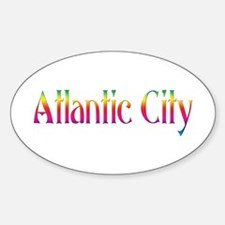 Atlantic City Oval Decal