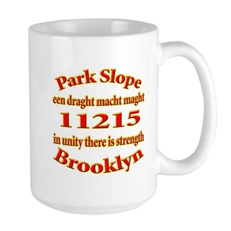 Park Slope Zip Code Large Mug