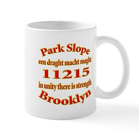 Park Slope Zip Code Mug
