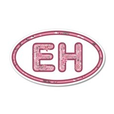 EH Pink Wall Decal
