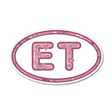 ET Pink Wall Decal