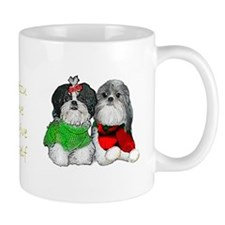 Shih Tzu Holiday Christmas Mug