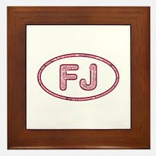 FJ Pink Framed Tile