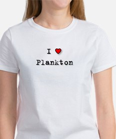 I Love Plankton Women's T-Shirt