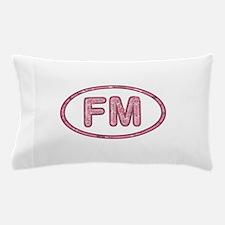 FM Pink Pillow Case