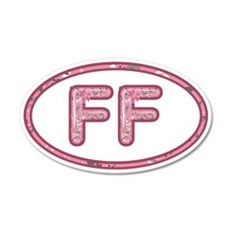 FF Pink Wall Decal