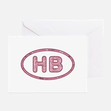 HB Pink Greeting Card 10 Pack