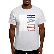 Haiti Ash Grey T-Shirt