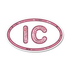 IC Pink Wall Decal