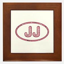 JJ Pink Framed Tile