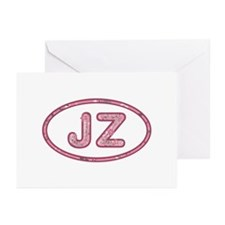 JZ Pink Greeting Card 10 Pack