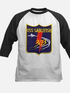 USS SABLEFISH Kids Baseball Jersey