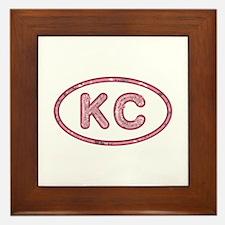 KC Pink Framed Tile