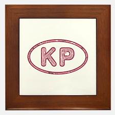 KP Pink Framed Tile