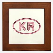 KR Pink Framed Tile